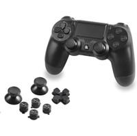 Metal Joystick Cap Cover Kit Bullet Thumbsticks con ABXY Bullet Buttons y D-pad para PS4 Controller Mod Kit de alta calidad ENVÍO RÁPIDO