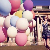 Sıcak !!! Renkli Büyük Balonlar Sevgililer Günü Romantik Balonlar Düğün Parti Bar Dekorasyon Fotoğraf Fotoğrafçılık Çocuk Hediye Yüksek Kalite