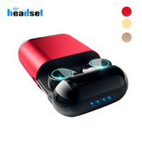 S7 TWS Bezprzewodowe Słuchawki Bluetooth Słuchawki Bluetooth 5.0 Stereo Bezprzewodowe Słuchawki Earbuds z Mic i Box