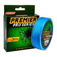 100 미터 / 1 박스 블루 낚시 라인 4 weaves 꼰 라인 사용 가능 6LB-100LB PE 라인 PESCA 낚시 도구 액세서리