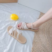 2020 Summer Shoes Woman Sandals Flat Sandalias Mujer Thin st...