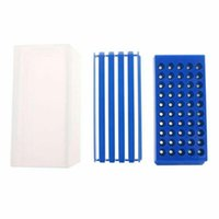 Tool Organizers 50 Holes Portable Practical Drill Bit Accessories Organizer Holder Storage Box Durable Drawer Type Milling Cutters PP