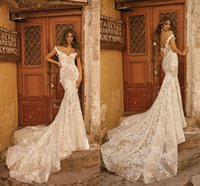 2019 Berta Off The Shoulder Mermaid Abiti Da Sposa In Pizzo Appliques Sweep Treno Paese Abiti Da Sposa Custom Made Beach vestido de novia