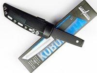 Cold Steel 17T KOBUN Survie Stright couteau Tanto Point Satin Blade Utilitaire Lame Fixe Couteau Chasse Outils Nouvelle Arrivée Livraison gratuite