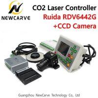 Ruida RDV6442G CCD البصرية CO2 ليزر نظام تحكم ليزر كتر حفارة آلة NEWCARVE