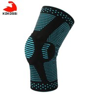 KoKossi 1PCS Knee Patella Protector Brace Silicone Spring Knee Pad Basketball Compression Sleeve Support Sports Kneepads