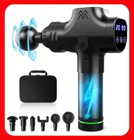 Massage Gun Sport Relief Deep Muscle Massager Gun Tissue Mas...