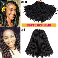Mtmei hair Soft Faux Locs Crochet Braids 14 Inch 30 Strands ...
