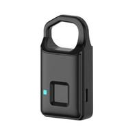 Rechargeable par clé à puce USB sans clé, à clé de sécurité portable, cadenas de sécurité, étui à bagages, serrures pour armoires, sacs à dos, etc.