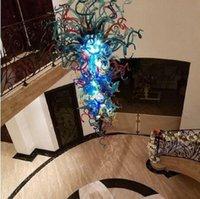 불어 유리 접시 벽 장식을 매달려 장식 컬러 유리 잎 플레이트의 손 풍선 현대 무라노 유리 샹들리에 현대 미술