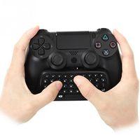 50sets användbar Varm Försäljning Fantastiskt trådlöst Bluetooth-tangentbord Chattpad för PS4 PlayStation 4 Controller