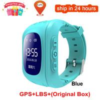 Anti Verlorener Q50 OLED Kind GPS Tracker SOS intelligente Überwachung Positionierung Telefon Kids GPS Baby Watch unterstützten IOS Android