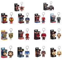 Funko Pop Keychain The avengers Action Figures Anime Collect...