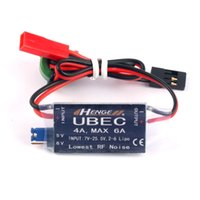 HENGE 4A UBEC Eingang 7V-25.5V 2-6S Lipo Ausgang 5V 6V / 4A Dauer Max 6A Schaltmodus BEC für RC Hubschrauber Autoteile