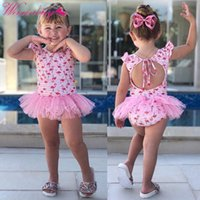 Baby Girl Clothes Cartoon Baby Swimwear Summer Newborn New Clothes Girl Playtoday Costume da bagno Siamese