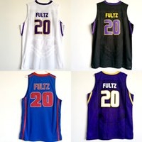 Mens Vintage Markelle Fultz Dematha 카톨릭 고등학교 농구 유니폼 # 20 워싱턴 Huskies Markelle Fultz 스티치 셔츠 S-XXL