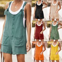 9 colors Summer Women plus size Overalls Elegant Jumpsuits R...