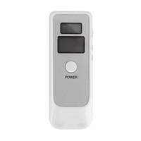Autofahrsicherheit Dual-LCD-Digital-Ausatmung Alkohol-Tester AD06 mit Uhr Hintergrundbeleuchtung Atem-Analysator Driving Parken Detector Widget A01