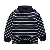 Childrens Designer Polo Sweater 2019 New Casual Striped Boys...