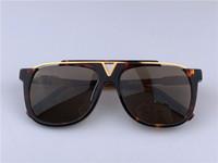 ecdef11f6 Louis Vuitton LV0937 Sunglasses Black Acetate Frame Máscara Quadrada  Popular Design Quadro Popular Proteção UV Óculos