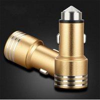 Автомобиль безопасности молоток бесплатно быстрый 2а USB выход подключите мобильный телефон Универсальное зарядное устройство питьевой зажигалки 5 5jx Е19.