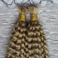 cabelo humano massa atacado 2 Pacotes massa afro carapinha trança encaracolado 200G sem volume do cabelo humano trama de trança