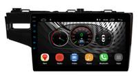 """UGAR 10.1 """"Android 8.1 Honda Fit Caz Yılı 2014-2018 için 2 GB 16 GB Araba DVD Stereo Radyo 2Din GPS Navigasyon Büyük Dokunmatik Ekran Araba Alıcısı"""