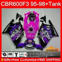 + Serbatoio per Honda CBR 600F3 CBR600FS 600CC 97 98 1997 Azioni di riserva della rosa 1998 41No.251 CBR600 F3 CBR 600 FS F3 CBR600F3 95 96 1995 Kit Kit