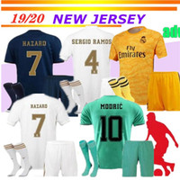 HAZARD Real Madrid soccer jersey adult kit uniforms 2019 202...