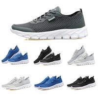 Boyutu 39-44 moda yeni koşu ayakkabıları erkekler kadınlar için siyah beyaz yaz nefes spor eğitmenler sneakers ev yapımı marka çin'de yapılan