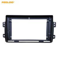 "FEELDO Car Stereo 9"" grand écran 2DIN fascia Cadre Adaptateur pour Suzuki SX4 Audio Dash panneau Montage Kit cadre # 3890"