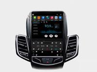 Siyah Tesla Dikey Ekran Araba Multimedya GPS Radyo Stereo Ses 4G WiFi Ford Fiesta Fiesta St için ST 2009-2015