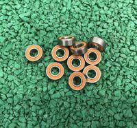 10 개 / 몫 ABEC-7 낚시 릴 베어링 SMR104 SMR105 SMR106 SMR115 SMR117 SMR126-2RS 스테인레스 스틸 하이브리드 세라믹 볼 베어링