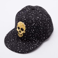 Hot Sell Skull Snapback Baseball Cap For Men Women Unisex Co...