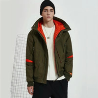 mens designer winter thick jackets luxury army green bomber ...