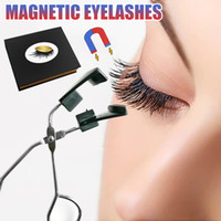 Eyelashes No Glue Magnetic Lashes Clip Curler with 2 Pairs E...