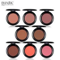 Imagic Makeup Cheek Blush Powder 8 colori Fard Polvere di colore diverso Fondotinta stampato Fard per trucco viso