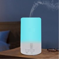 Mini Air Umidificador ultra-sônico de carregamento USB Aromaterapia 5color Led Night Light Essencial Aroma Oil Difusor Para Casa Carro Escritório