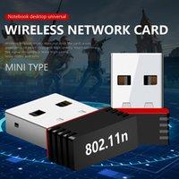 Nano 150m USB Wifi Wireless Adapter 150Mbps IEEE 802.11n G B Mini Antena Adaptierer Chipset MT7601 Netzwerkkartengroßhandel