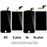 Grado A +++ Per iphone 6g 6s 6p 6sp Display LCD Touch Screen Digitizer Assembly Sostituzione LCD Touch Panel 100% Testato