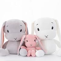 Conejito precioso juguetes de la muñeca de conejo rellena felpa suave animal del bebé niños de juguete de regalo de la muñeca 30cm