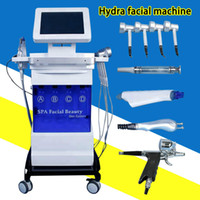 Diamante de la piel microdermoabrasión facial pelar máquina de belleza cuidado de la piel máquina de dermoabrasión agua Hydra rejuvenecimiento facial con CE