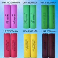 Rechargeable 18650 Battery for Headlamp Light 25R HE2 HE4 25...