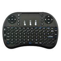 Mini Rii I8 Fly Air mouse remoto retroilluminazione della tastiera 2.4GHz telecomando senza fili per S905w S912 TV Box di alta qualità