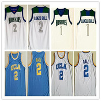 2d4808104 New Arrival. Mens Vintage  1 Lamelo Ball Lonzo Ball Chino Hills Huskies  High School Basketball Jersey ...