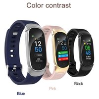 Nuovi sport impermeabile intelligente orologio donne intelligenti della fascia del braccialetto Bluetooth Heart Rate Monitor Caso Fitness Tracker Smartwatch metallo