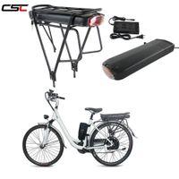Электрический велосипед литиевая батарея LG 3200 клеточная литиевая батарея Ebike задняя стойка Li Ion Battery 48V 12,8ah 1000W аккумуляторная + двойная багажная стойка
