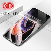 vidrio 3D Cobertura completa suave PET de Cine para Samsung Galaxy Samsung Galaxy S20 Ultra S10 S10E S8 S9 S10 Plus Nota 8 9 10 protector de la pantalla de cine