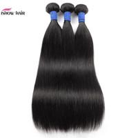 10A Brasilianische Gerade Human Hair Bündel 3/4 Bundles Angebote Kinky Curly Lose Tief Indianer Remy Human Hair Schussverlängerungen Deep Wave
