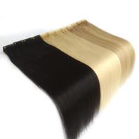 2020 nouvel extension de cheveux de pointe 6D pour une extension de cheveux rapide Connexion haut de gamme Connexion Virgin Remy Pre Bond Je conseille Extension de cheveux 100g 200strands